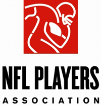 NFL player's association logo