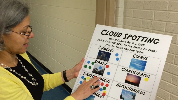 Mrs. Seas and the Cloud Spotting poster