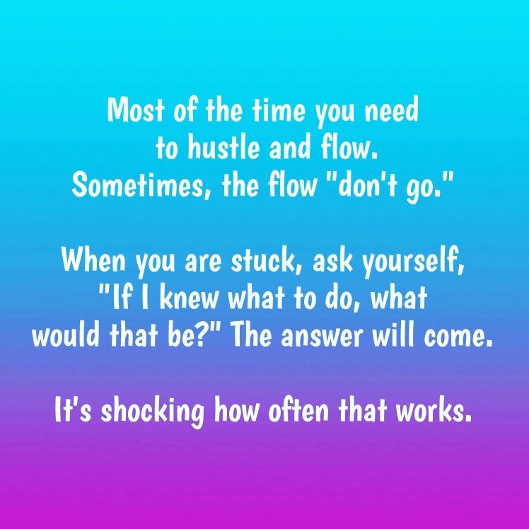 Stuck advice