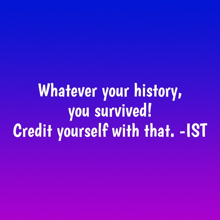 You survived graphic